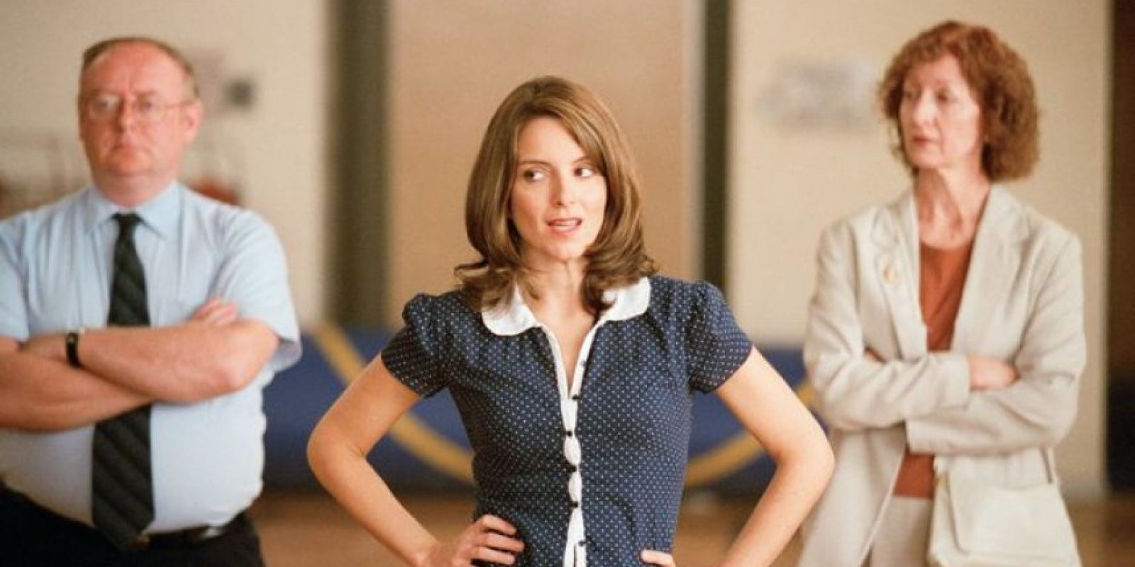 """Cuando se hicieron las audiciones para la película, Tina Fey eligió al actor que interpreta a Aaron Samuels porque pensó que """"se parecía a Jimmy Fallon"""" Foto:Facebook Mean Girls"""