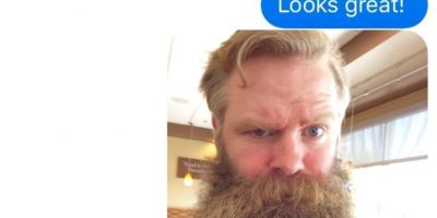 """""""Wendy"""" le envió una foto. Pero el sujeto siguió texteando a pesar de las fotos que enviaba. Foto:vía Imgur"""