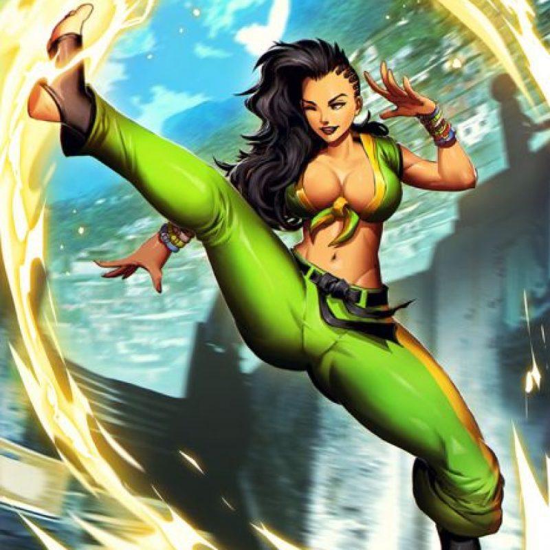 Laura es la nueva luchadora de Street Fighter que se ha filtrado por error Foto:Capcom