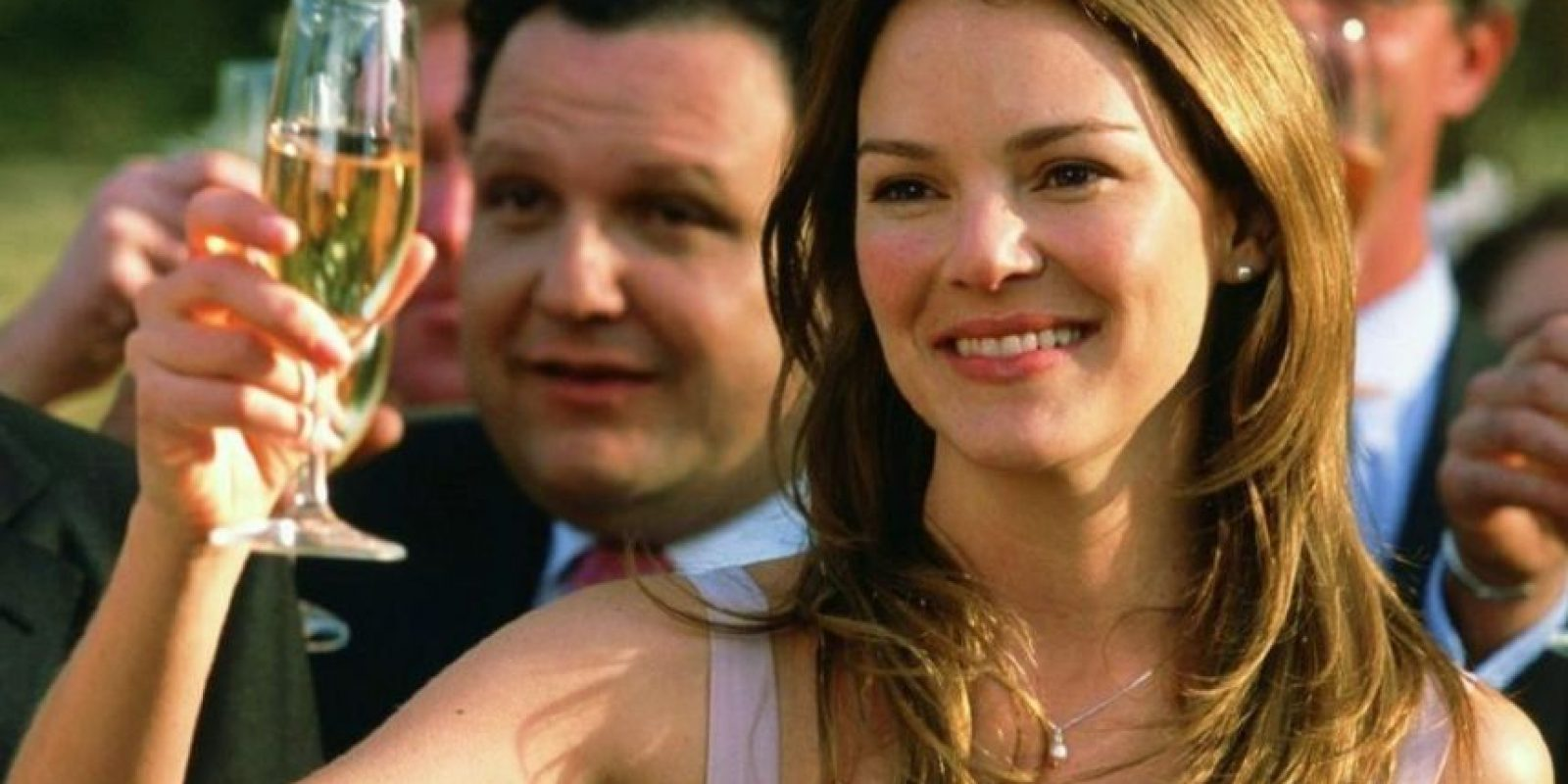 """En la segunda parte de """"Bridget Jones"""", donde interpretaba a una abogada colega de """"Mark Darcy"""" que estaba enamorada de ella. Foto:vía Getty Images"""