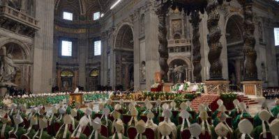 2. El encuentro del Papa Francisco también ese país con uno de sus exalumnos, el cual tiene una pareja homosexual desde hace 19 años Foto:AFP