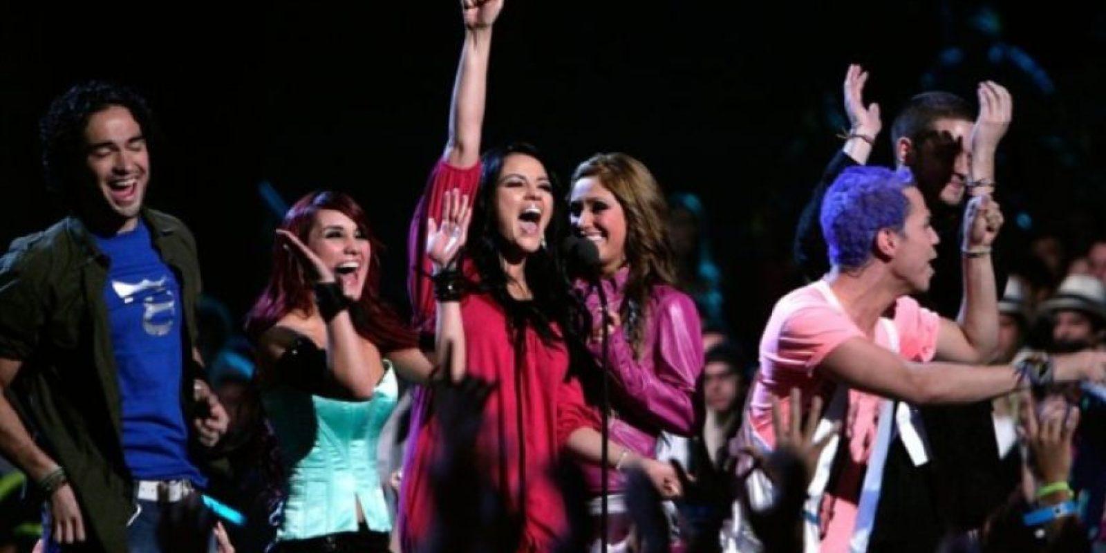 7. RBD consiguió numerosas nominaciones y galardones en premiaciones como: los Grammys Latinos, Premios Juventud, Billboard Latin Music Awards, Premios Lo Nuestro, entre otros. Foto:Getty Images