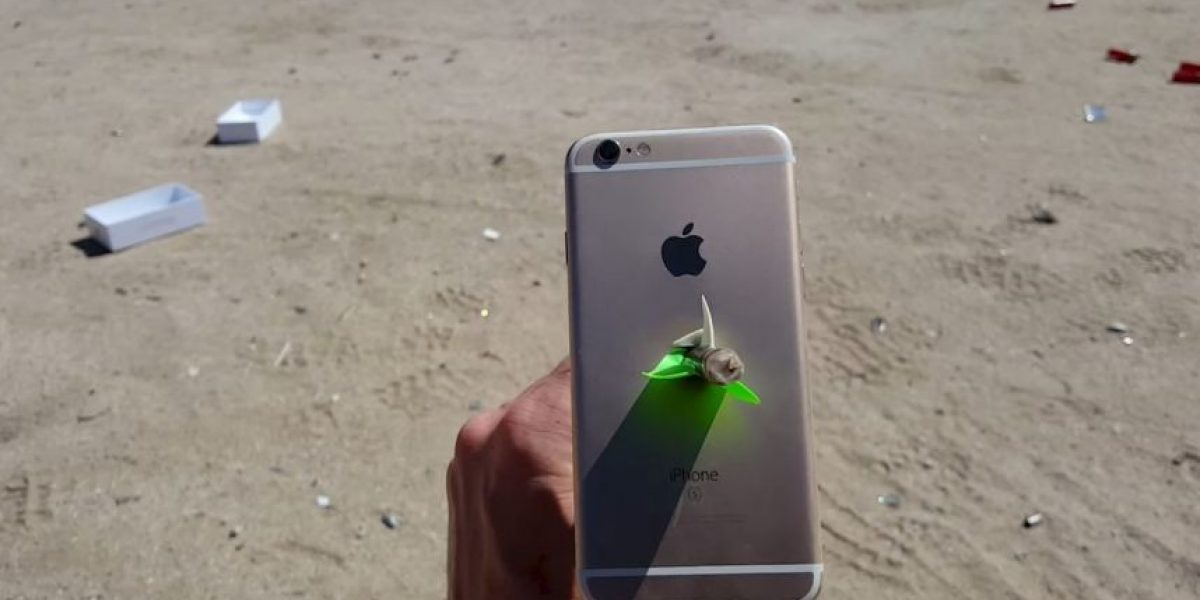 Video: Esto pasa cuando le disparan una flecha al iPhone 6s
