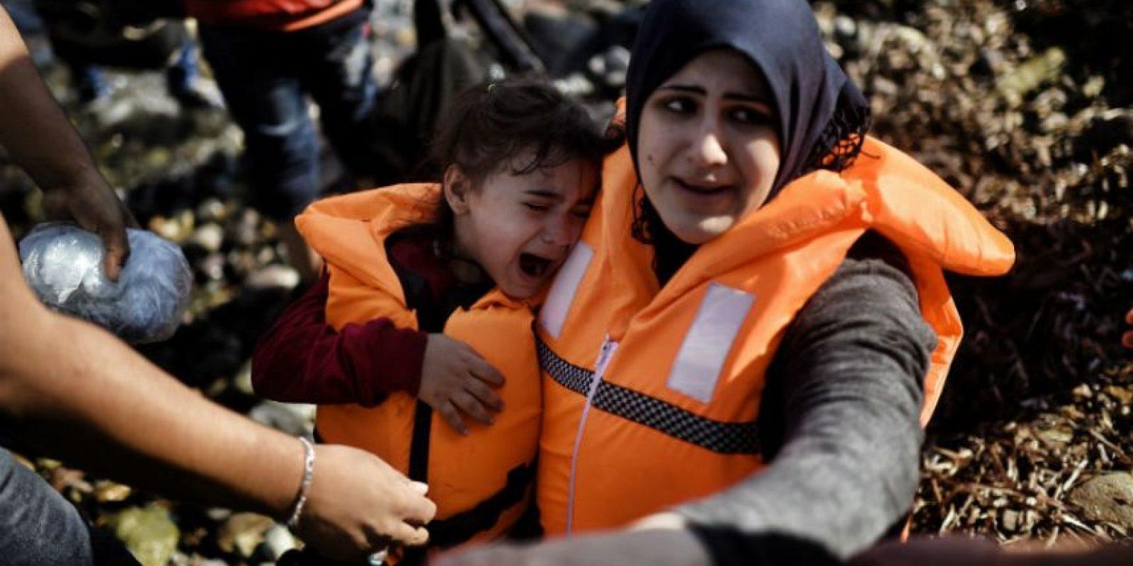La mayoría de loss refugiados provienen de Siria Afganistán e Irak. Foto:AFP