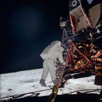 """""""Este es un pequeño paso para el hombre, pero un gran salto para la humanidad"""" Foto:Flickr.com/projectapolloarchive"""