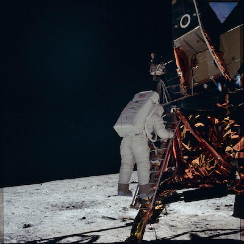 Armstrong siempre será recordado por la frase Foto:Flickr.com/projectapolloarchive