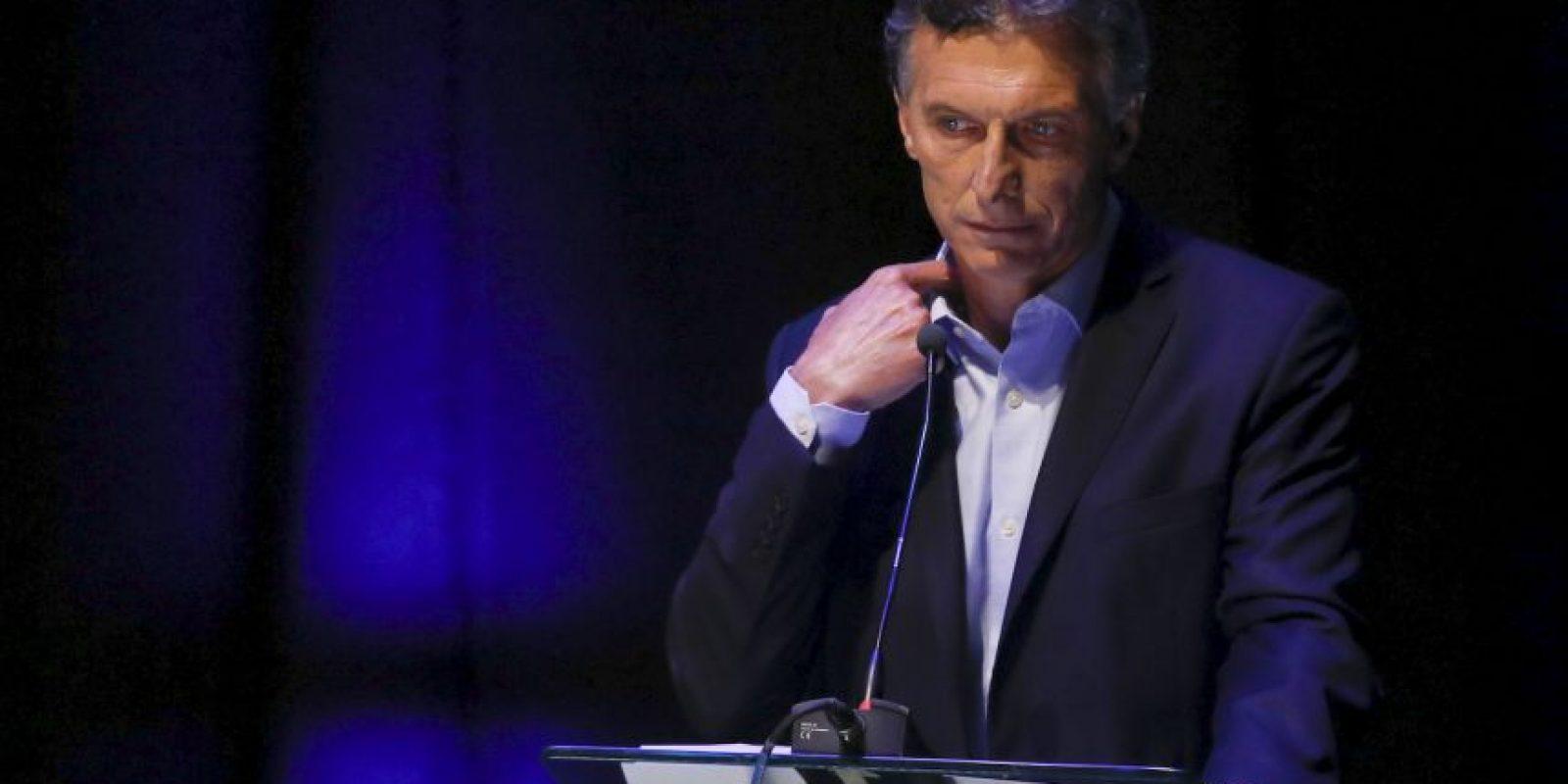 """""""Nuestro gobierno ha sido el que más viviendas construyó en los últimos 15 años"""", Mauricio Macri Foto:AP"""