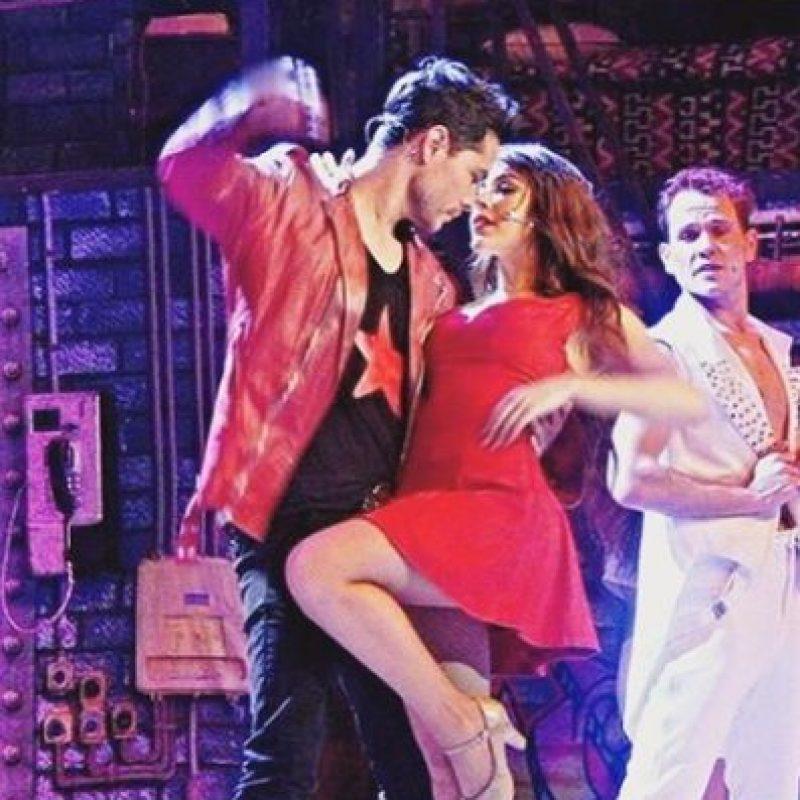 """Y al finalizar """"Wicked"""", se unió al elenco del musical de Mecano, """"Hoy No Me Puedo Levantar"""". Foto:vía instagram.com/dannapaola"""