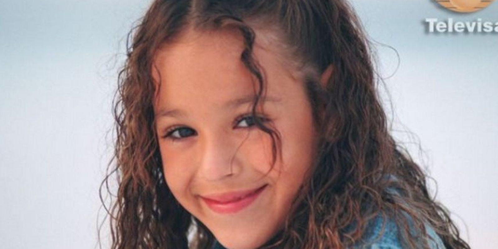 """En 2004 protagonizó la telenovela """"Amy, la niña de la mochila azul"""" y, a la par, continuó con su carrera como cantante. Foto:Televisa"""