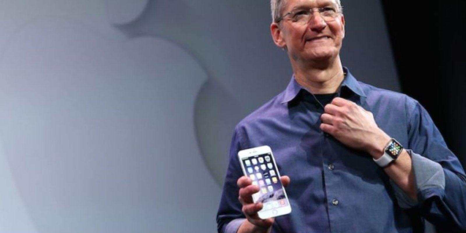 Tim Cook, CEO de Apple, dijo en marzo pasado que donaría toda su fortuna. Foto:Getty Images