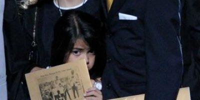 Fotos: Captan a los hijos de Michael Jackson en plena noche de fiesta