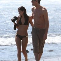Cathriona White fue la última novia del comediante Jim Carrey Foto: Grosby Group