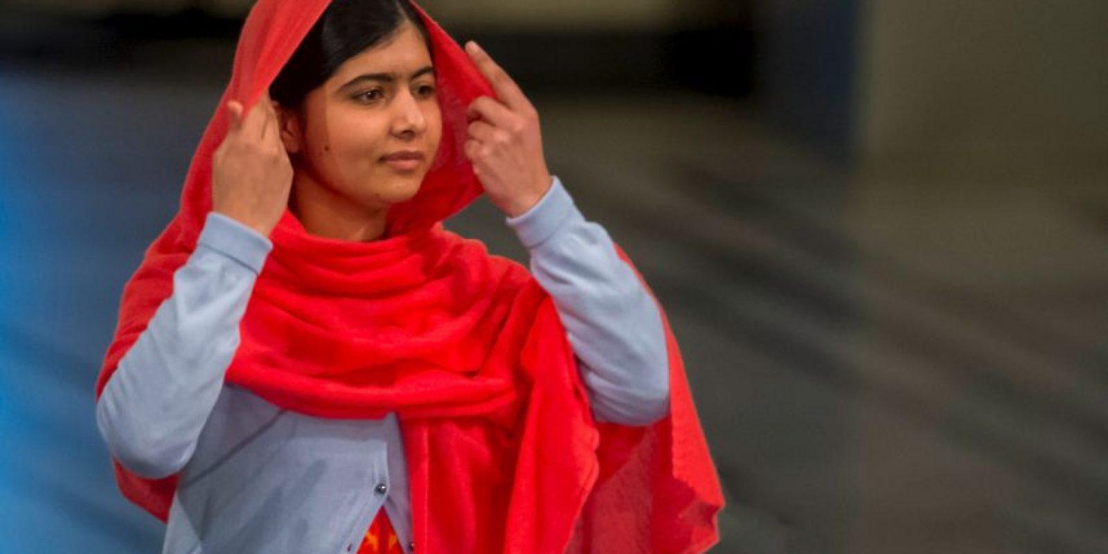 Es la mujer más joven en recibir el galardón: tenía 17 años Foto:Getty Images