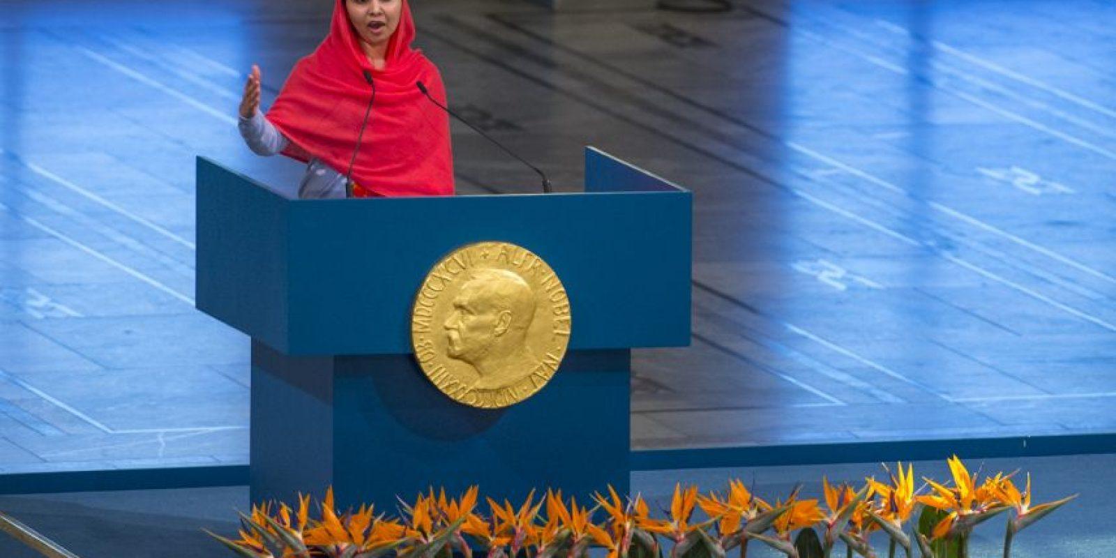 Fue atacada por el Taliban por exigir una mejor educación. Foto:Getty Images