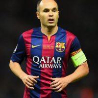 Iniesta, de 31 años, es una de las grandes figuras del Barcelona en los últimos años. Foto:Getty Images