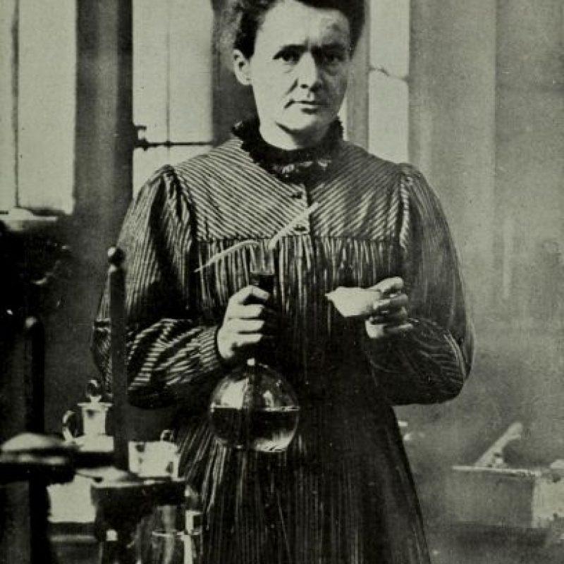 Fue esposa de Pierre Currie y descubrió los elementos Radio y Polonio Foto:Wikipedia