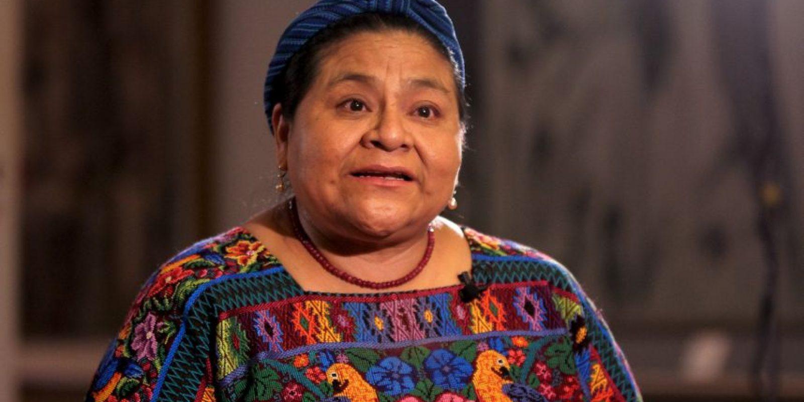 Fue distinguida con el Premio Nobel de la Paz en 1992 Foto:Wikipedia