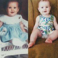 16. Madre e hija a la misma edad Foto:Imgur