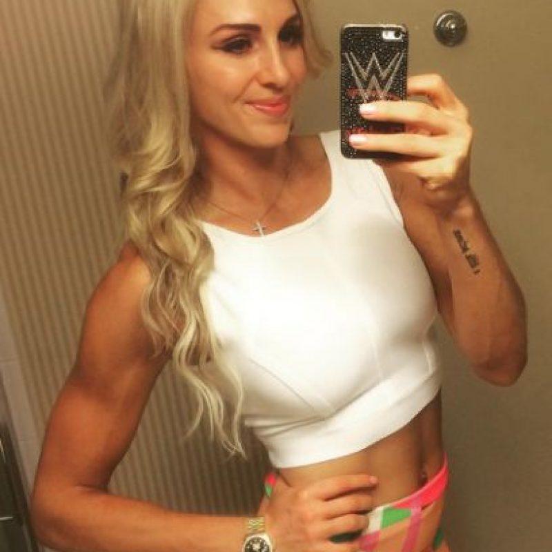 Es hija de la leyenda de la lucha libre estadounidense Ric Flair. Foto:Vía instagram.com/charlottewwe