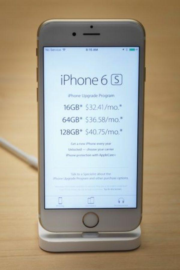 3- Más capacidad de almacenamiento (hasta 128GB) Foto:Apple
