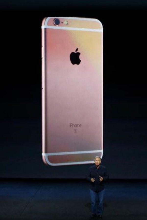 9- Nuevo color (Oro rosado) Foto:Apple