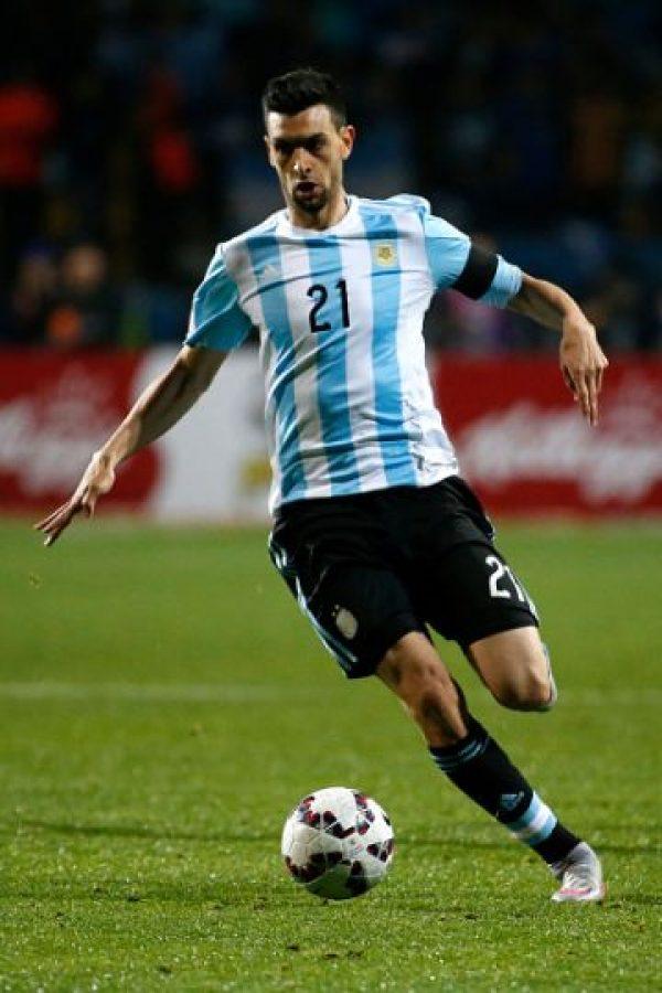 """El """"Flaco"""" es uno de los jugadores más talentosos de Argentina, aunque muchas veces suele ser enviado al banquillo. Si se conecta con Lionel Messi, la """"Albiceleste"""" no sufrirá mucho rumbo a la Copa del Mundo. Foto:Getty Images"""