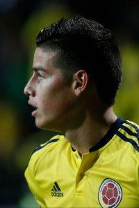 Aunque se perderá el arranque de las eliminatorias por lesión, James será el líder de una selección colombiana que aspira a estar entre las mejores del mundo. Foto:Getty Images