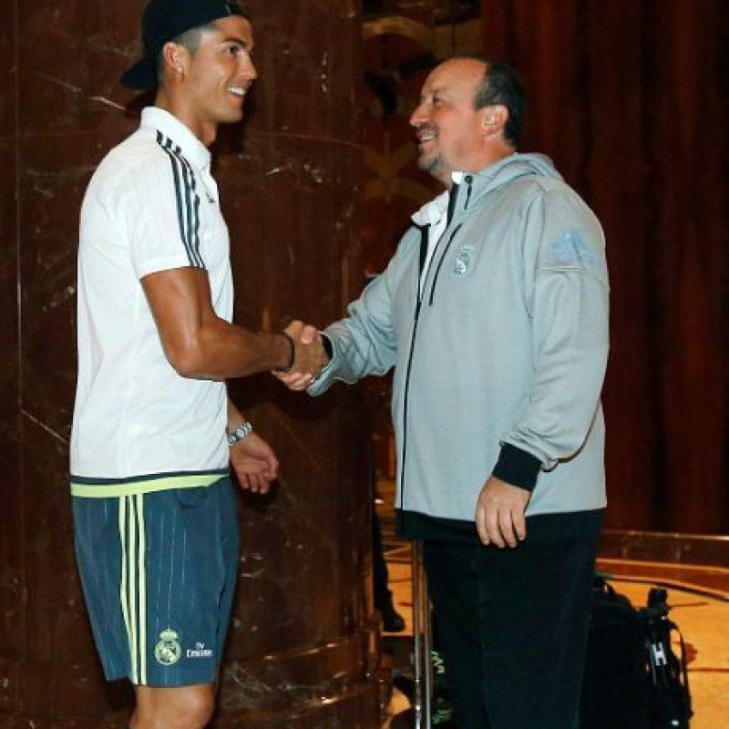 """Y en eso trabaja Jorge Mendes, su agente y el hombre de negocios más poderosos del fútbol, según información de """"Don Balón"""". Foto:Getty Images"""