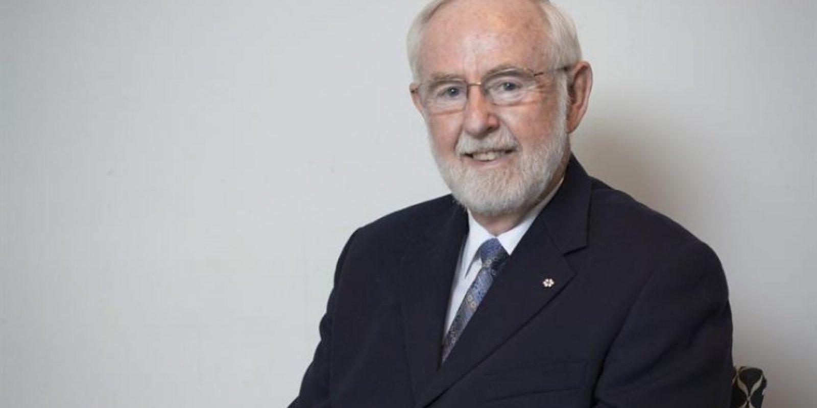 Fotografía sin fechar facilitada por la Queen's University hoy, 6 de octubre de 2015 del científico canadiense Arthur B. McDonald. Foto:EFE