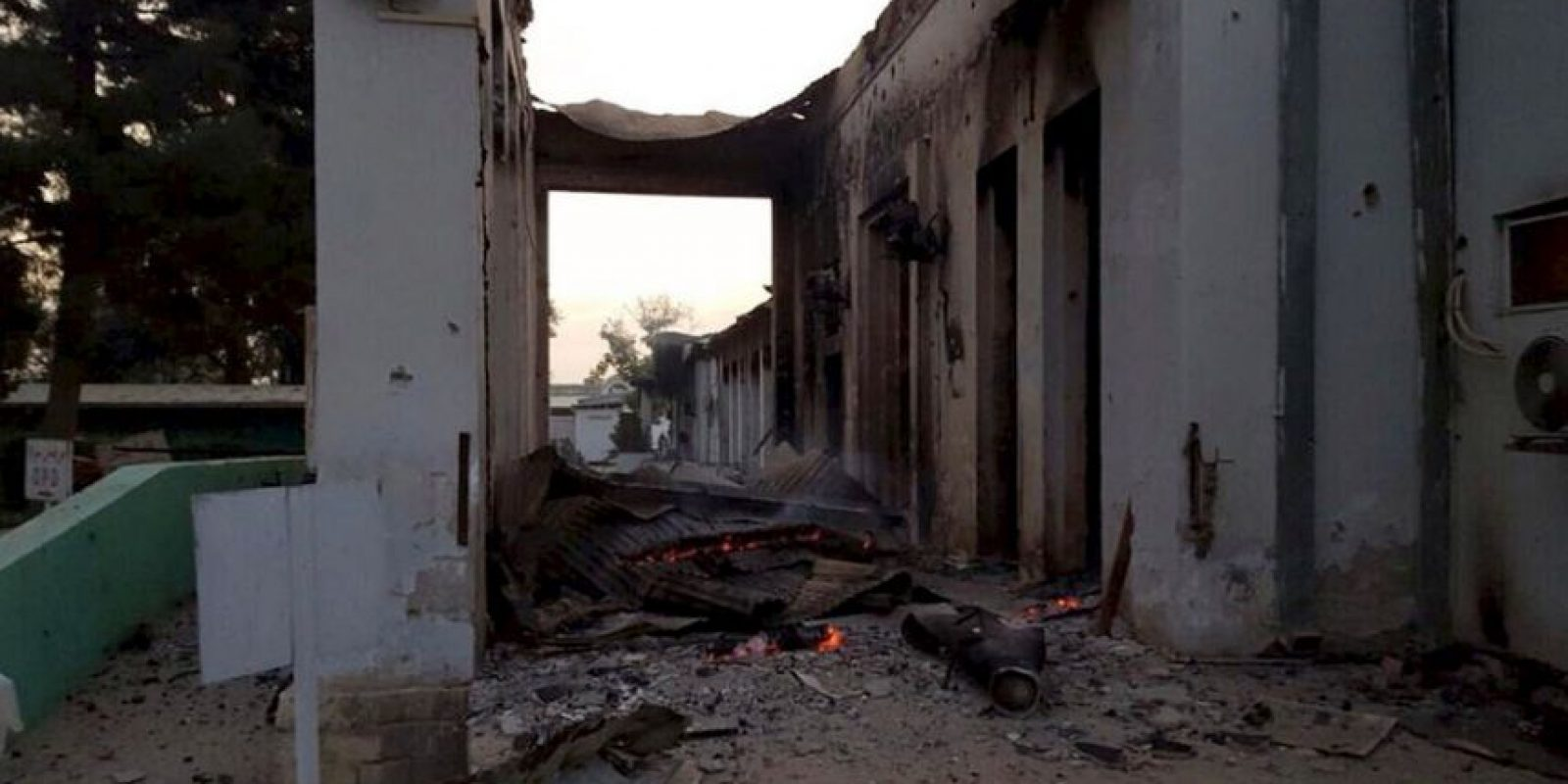 Mientras, Médicos Sin Fronteras asegura que se trata de un ataque deliberado. Foto:AP