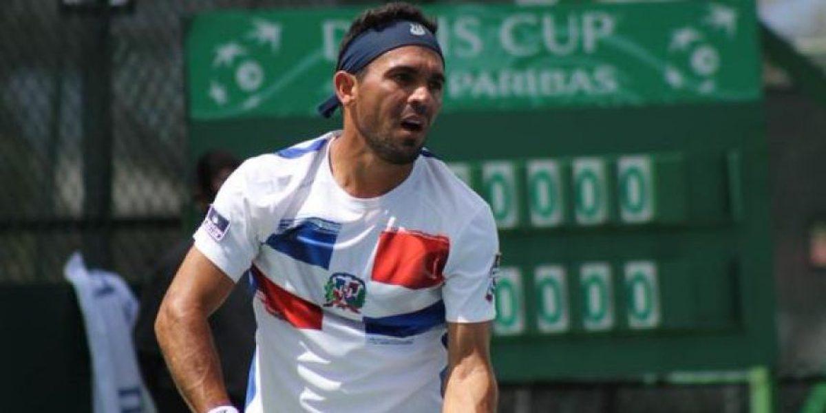 Víctor Estrella cae en primera ronda del Open de China frente al polaco Pospisil