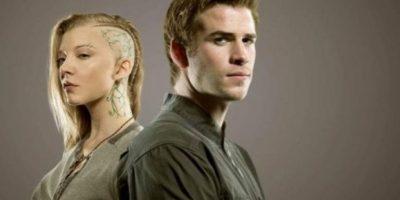 """""""Cressida"""" es Natalie Dorner y """"Gale"""" es Liam Hemsworth Foto:TIME / Tim Palen"""