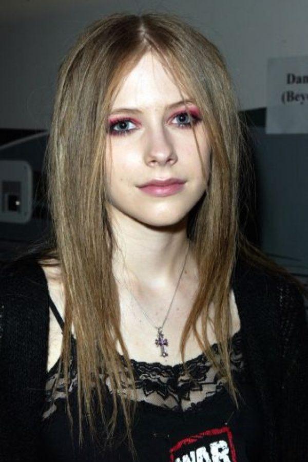 En 2003, Melissa Vandella ocupó la identidad de Avril. Foto:Getty Images