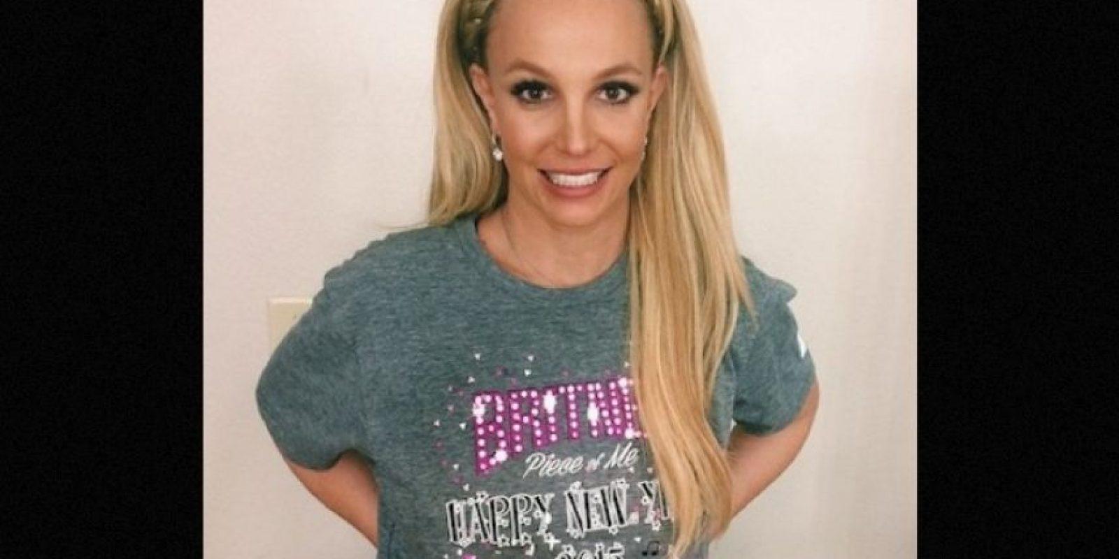 """Britney Spears anunció a través de sus redes sociales que participará en """"Jane the Virgin"""" junto al actor mexicano Jaime Camil. Foto:Instagram/BritneySpears"""