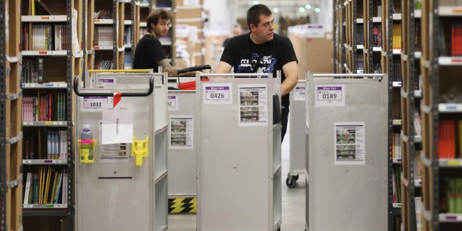 Amazon tiene su propia logística. Foto:Getty Images