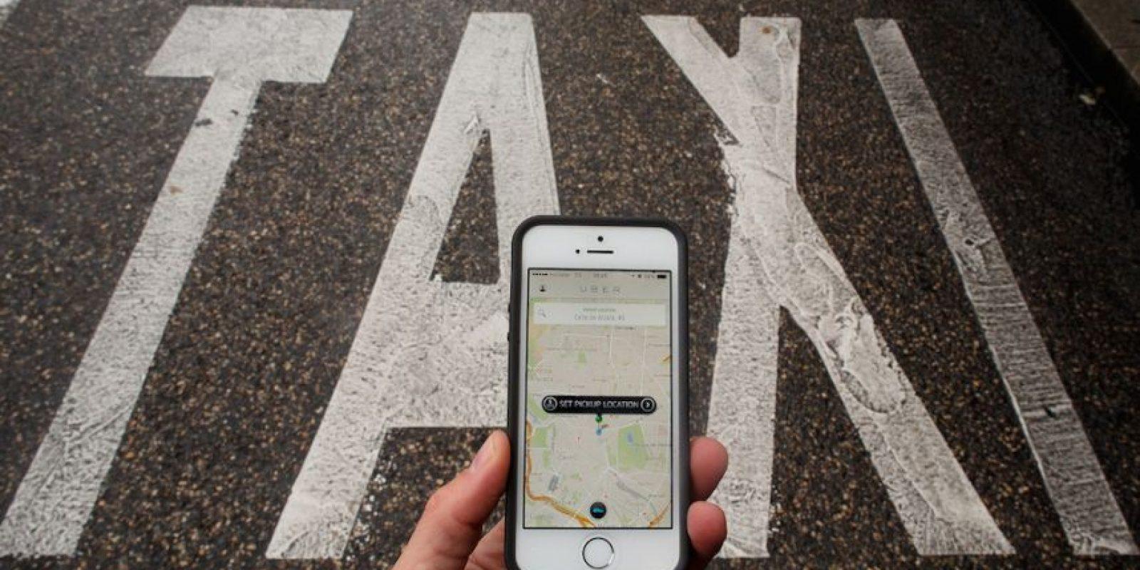 10) En horas de tráfico alto, la tarifa se incrementa aunque ustedes deciden si la aceptan o esperan a que baje el precio. Foto:Getty Images