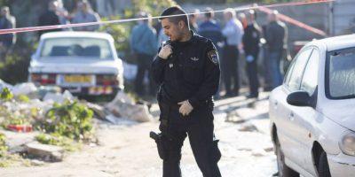 Por esa razón, las autoridades lanzaron una granada, misma que impactó con la periodista. Foto:Getty Images