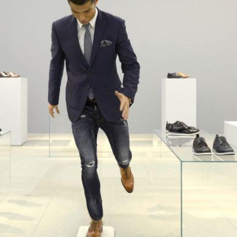 """En 2013, el portugués presentó su línea de ropa interior masculina """"CR7 Underwear"""". Foto:Getty Images"""