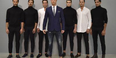 Fotos: Cristiano Ronaldo fue modelo de su propia colección de zapatos