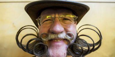 4Estilo. Un estilo un tanto barroco deslumbra a los rivalesLa barba en forma de anillos de este participante, sin duda, hace que el pelo de cualquier espectador literalmente se enrosque. Foto:Getty Images