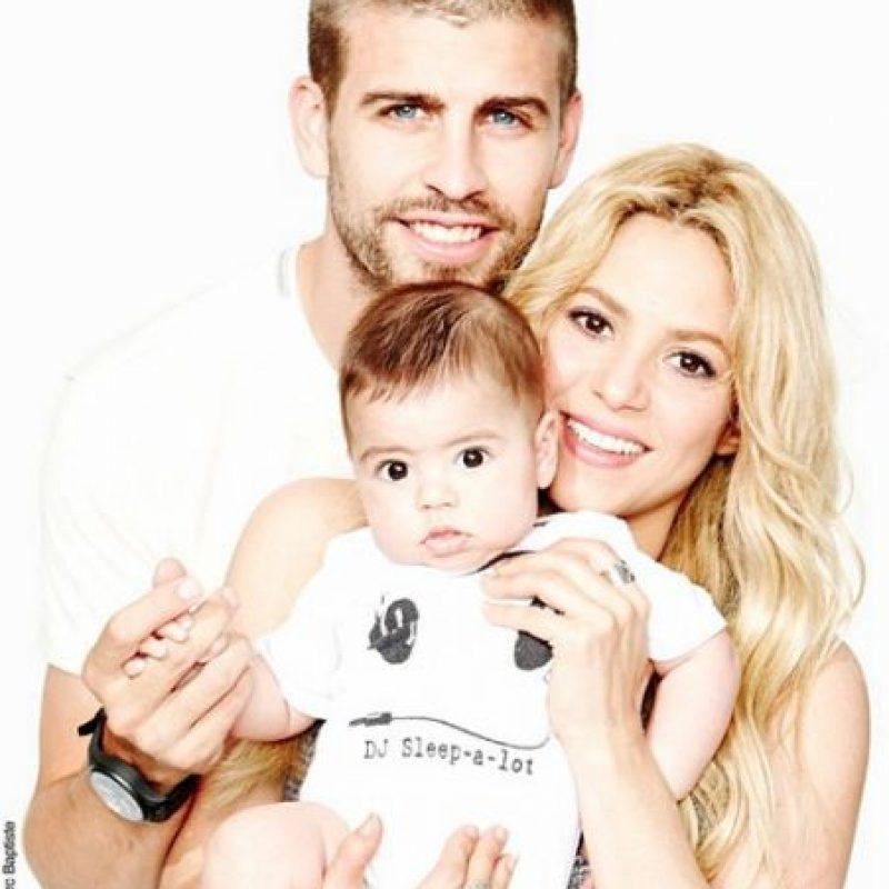 Y en enero de 2015 nació su segundo bebe, Sasha. Foto:Vía instagram.com/shakira
