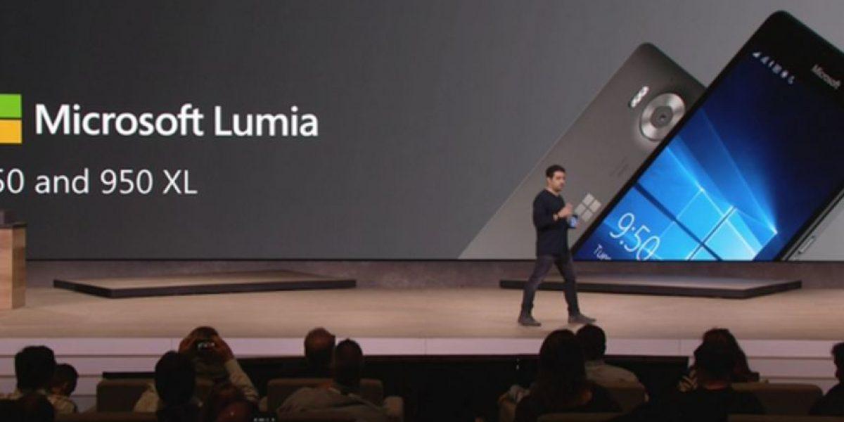 Microsoft lanzó sus nuevos celulares Lumia 950 y 950 XL