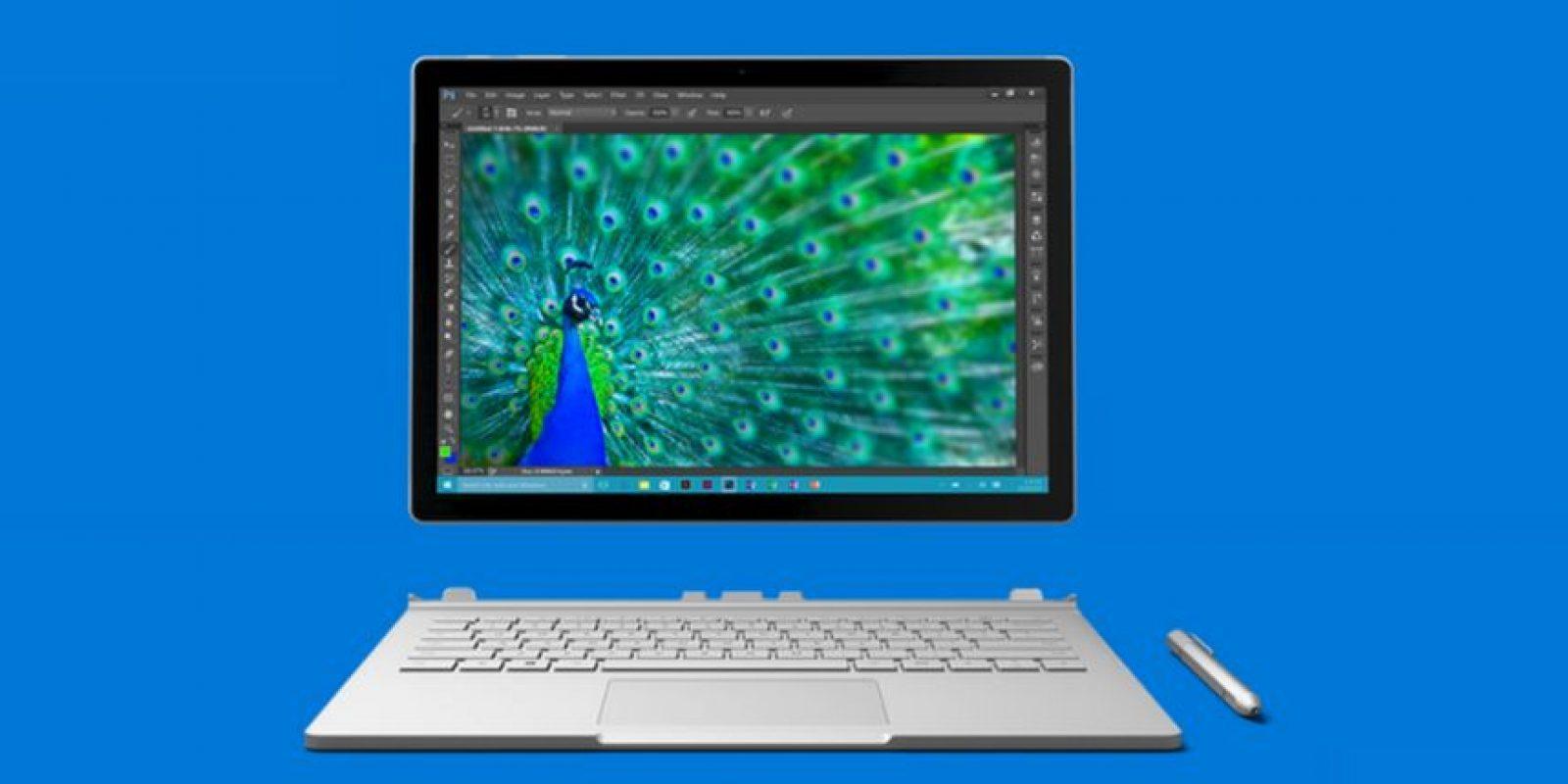 Microsoft Surface Book es el primer portátil enteramente creado por Microsoft. Foto:Microsoft
