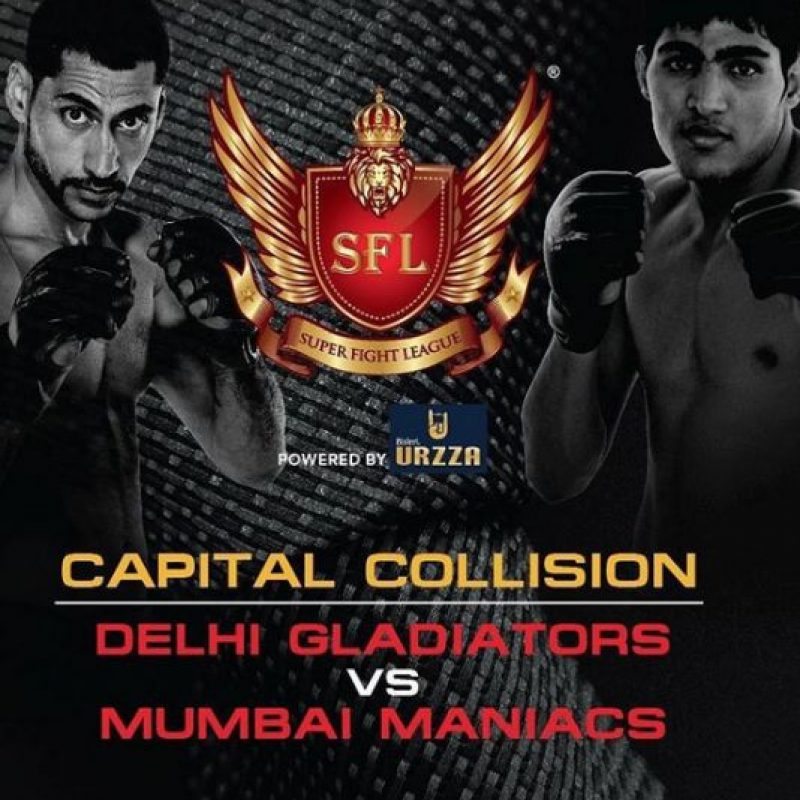 Esta ocurrió en la Super Fighter League (SFL). Foto:Vía instagram.com/superfightleague