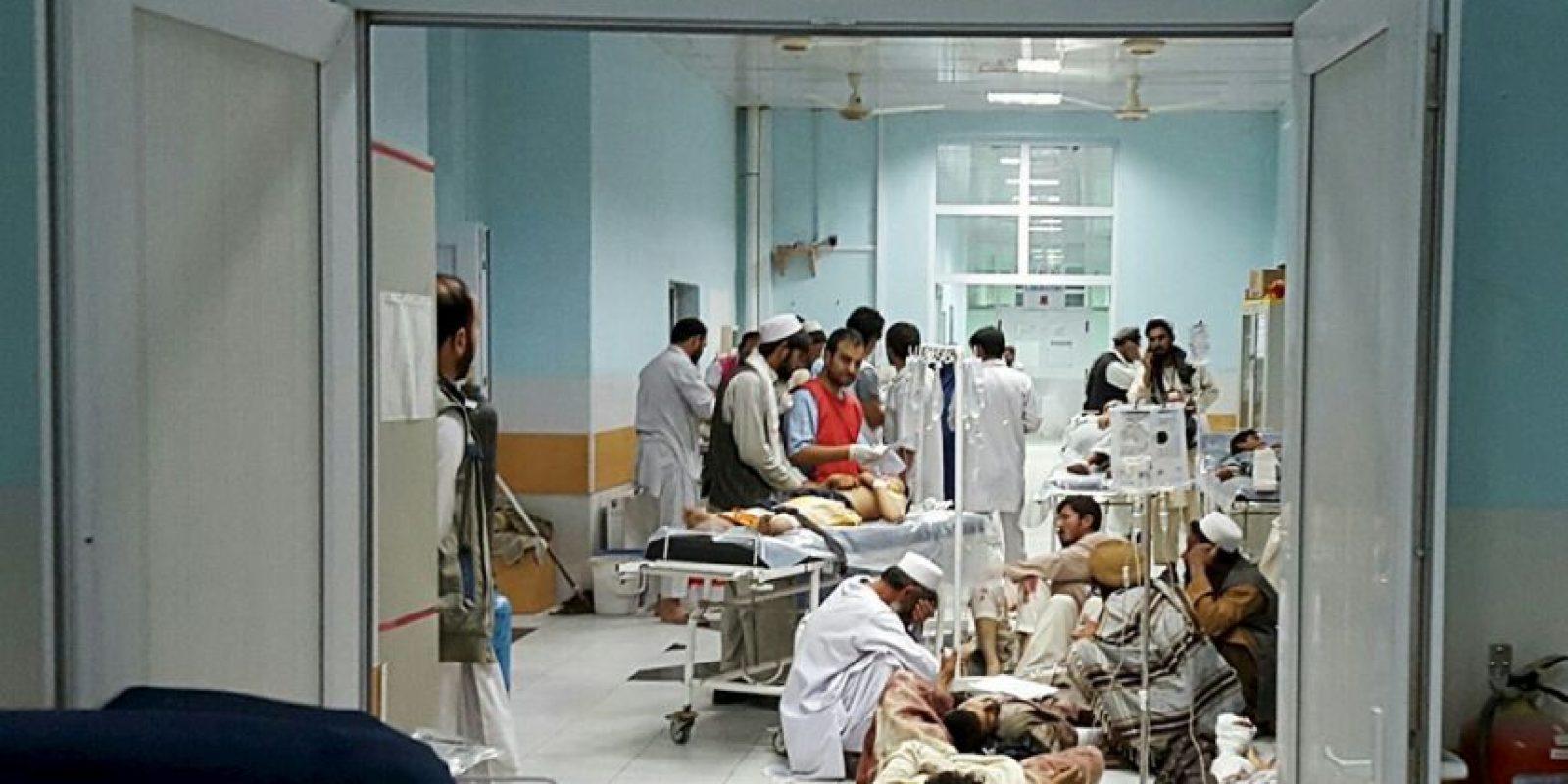 22 personas resultaron muertas. Foto:AFP