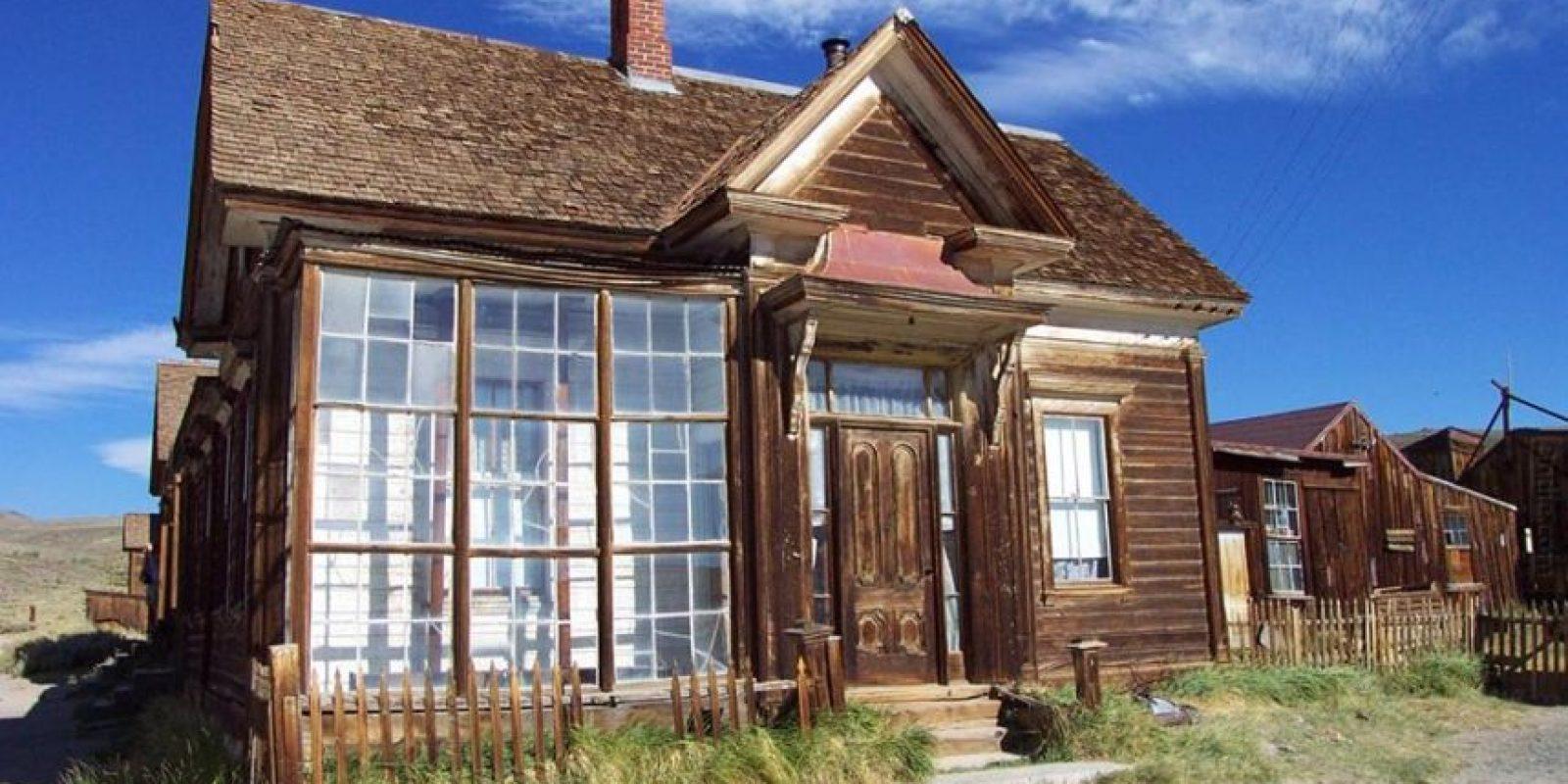 Durante el siglo XVIII fue una de las ciudades más pobladas del estado por sus yacimientos de oro Foto: Bodie.com