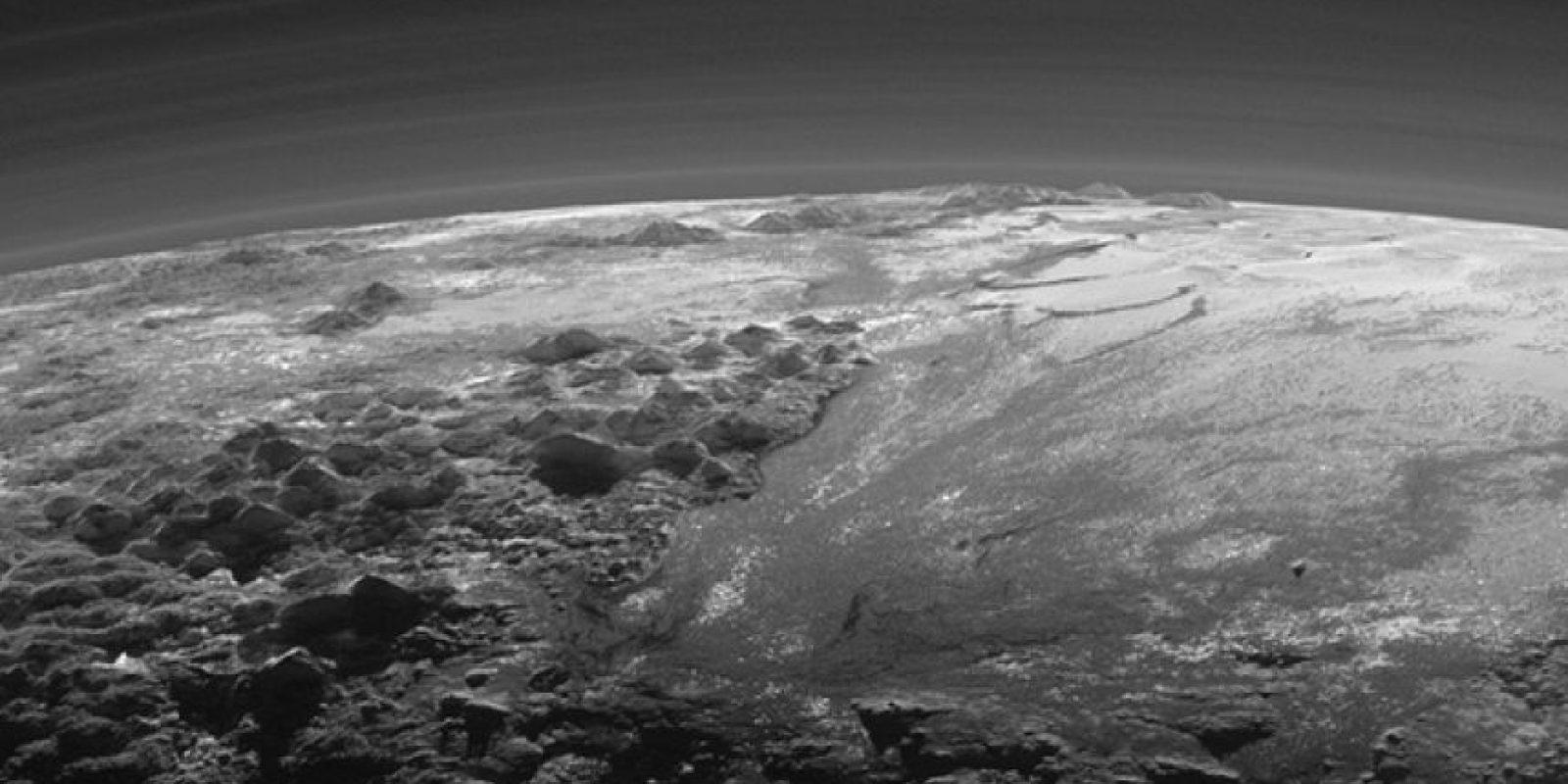 Así luce la atmósfera del planeta enano. Foto:Vía nasa.gov