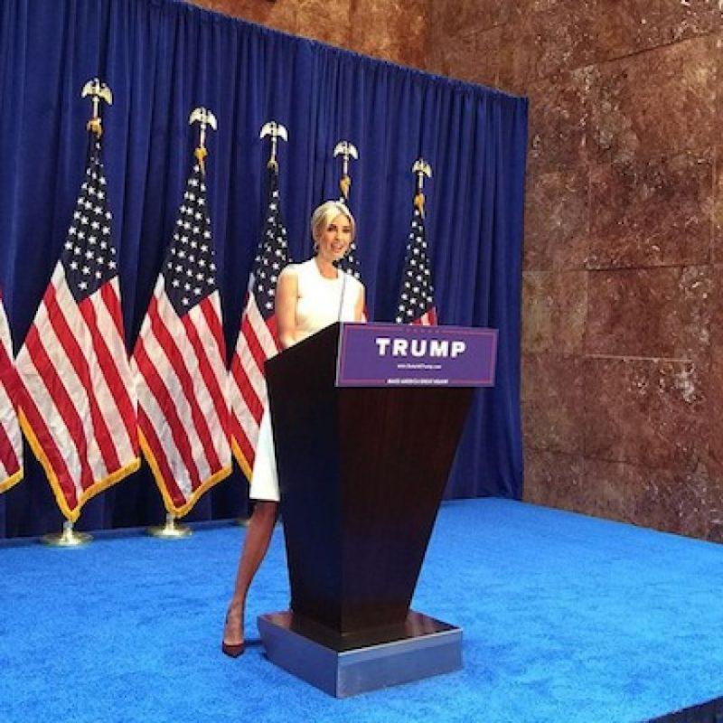 Se le ha comparado con la heredera del imperio hotelero Hilton, Paris Hilton Foto:Instagram.com/ivankatrump