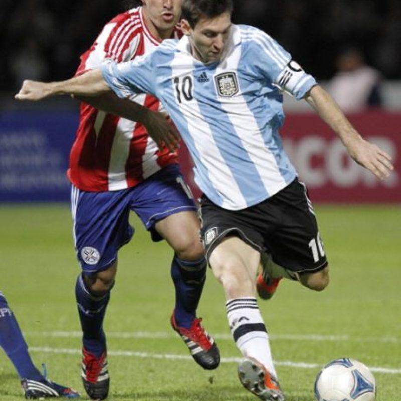 Paraguay vs. Argentina en el Estadio Defensores del Chaco de Asunción. Foto:Getty Images