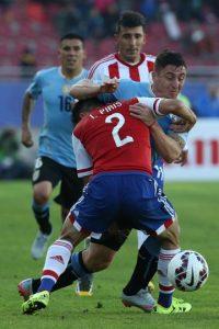9. Uruguay vs. Paraguay en Montevideo / Jornada 8 / septiembre de 2016 Foto:Getty Images